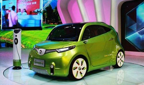 Chana Green-i Electric Car. #Green #EV #ElectricCar