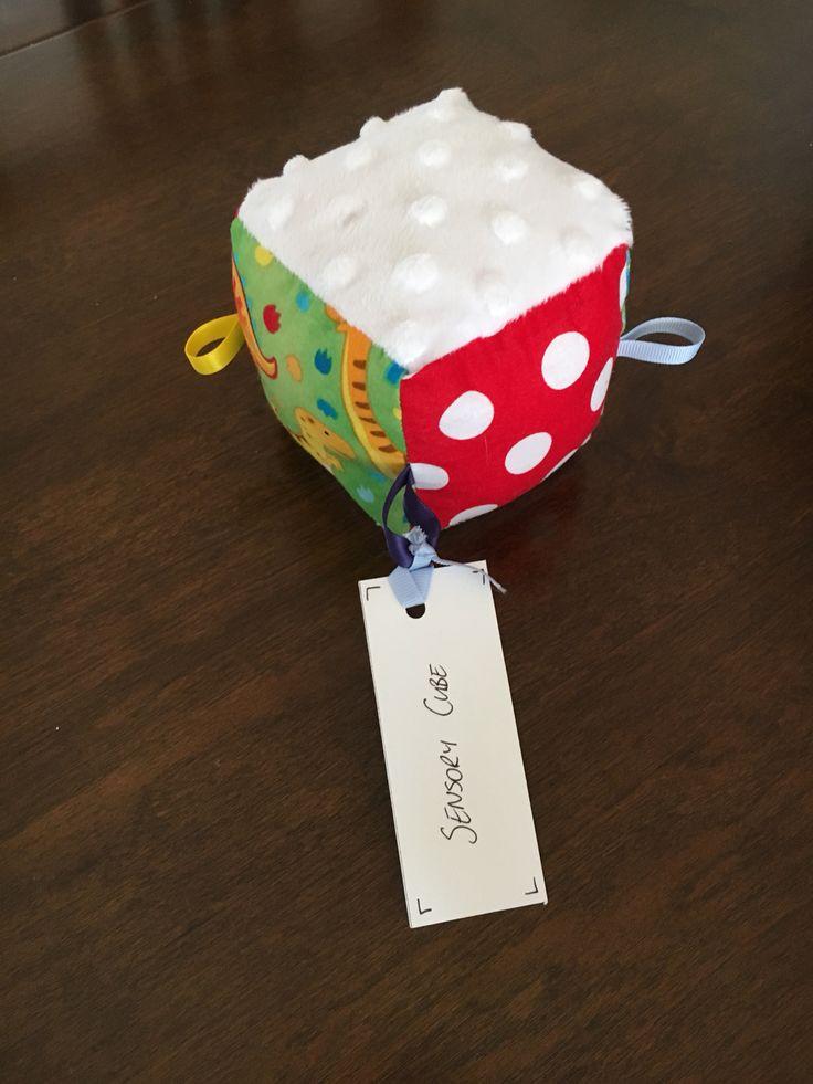 Handmade Sensory Cube