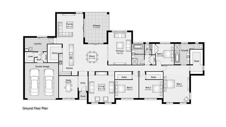 Berrington 38 || Clarendon Homes Floor Plans