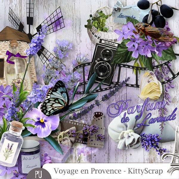 Le Blog de kittyscrap: VOYAGE EN PROVENCE : Essentiel