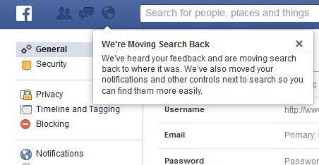 Aus Alt mach Neu: Facebook kehrt zur alten Kopfzeile zurück