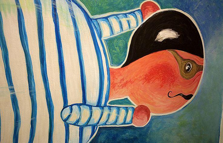 Non c'è monotonia, grigiore, colori spenti lungo le pareti della palestra e della mensa, i corridoi, le scale. Nell'edificio del plesso Marmocchi, che ospita scuola media e scuola elementare, dell'Istituto Comprensivo di Poggibonsi a rendere viva e colorata la struttura è stato l'estro di Lucia Cristiani