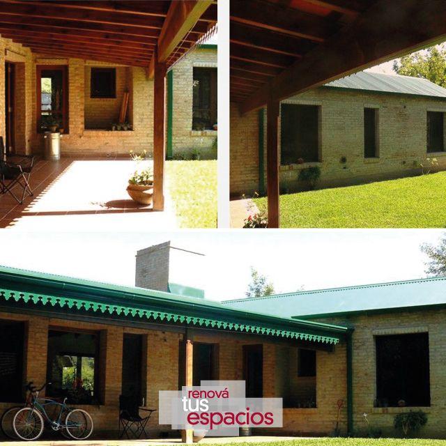 Cada uno elige el estilo que más lo representa #RenováTusEspacios #CasadeCampo #Contrucción #Arquitectura  www.renovatusespacios.com.ar
