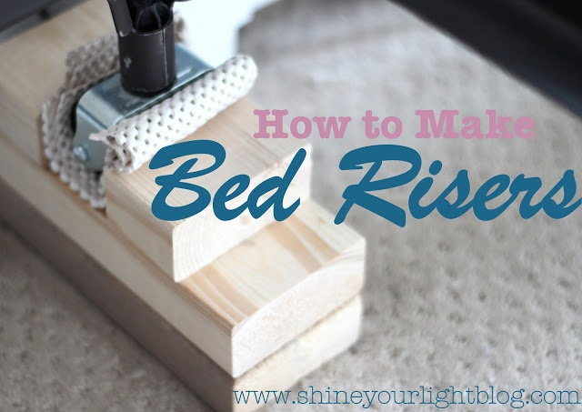 shine your light how to make bed risers bed risers target furniture