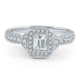 Vivaldi TW Diamond Engagement Ring In Gold   Vivaldi Collection   Helzberg  Diamond Symphonies   Collections   Helzberg Diamonds   Swap The Center  Stone For ...
