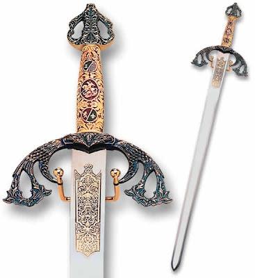 "Swords of ""El Cid Campedor"", 11th century, Spanish."