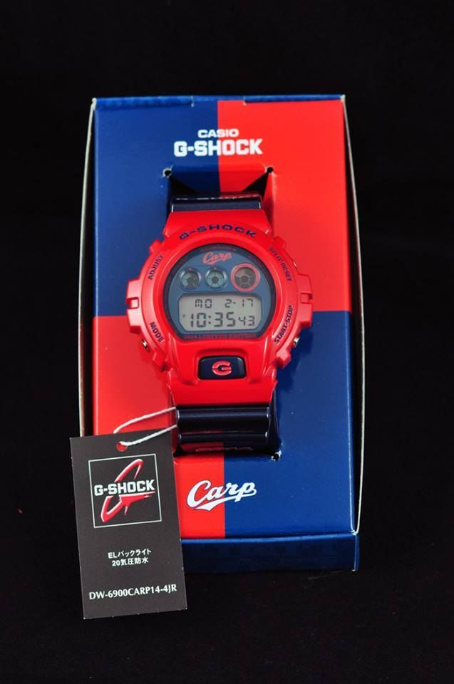 G-Shock DW-6900 x Toyo Carp Collaboration-1
