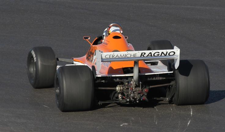 Riccardo Patrese Arrows A3 1981 (Austin 2012) © Peter Linder