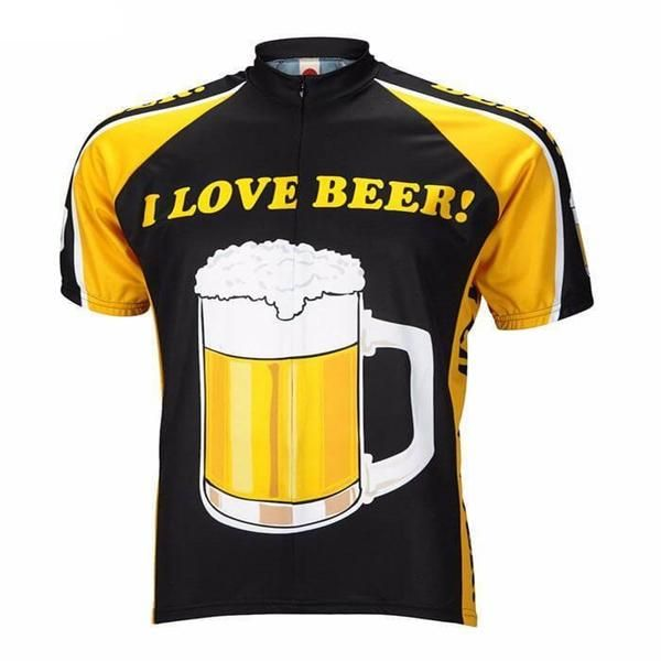 Cycling Jersey I love beer | funny jersey | beer jersey