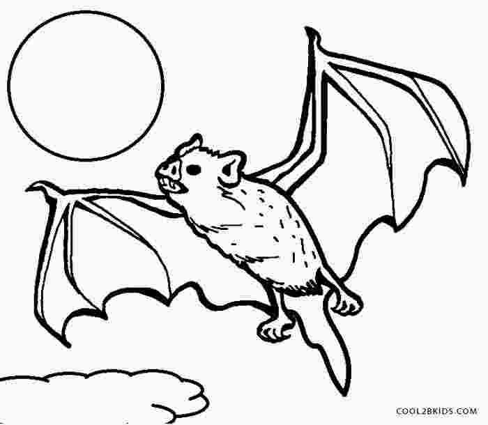 Vampire Bat Coloring Page Bat Coloring Pages Animal Coloring
