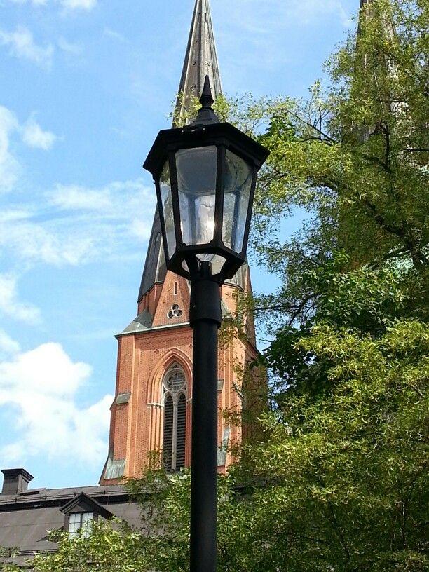 Lyktstolpe i Uppsala