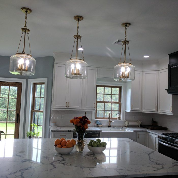 Jean Baptiste 3 Light Drum Pendant Reviews Birch Lane Kitchen Island Lighting Pendant Gorgeous Kitchens Kitchen Lighting Fixtures