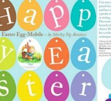 Printable Easter Egg Banner: Printable Easter, Easter Banners, Easter Crafts, Easter Eggs, Eggs Banners, Easter Printable, Free Printable, Happy Easter, Easter Treats