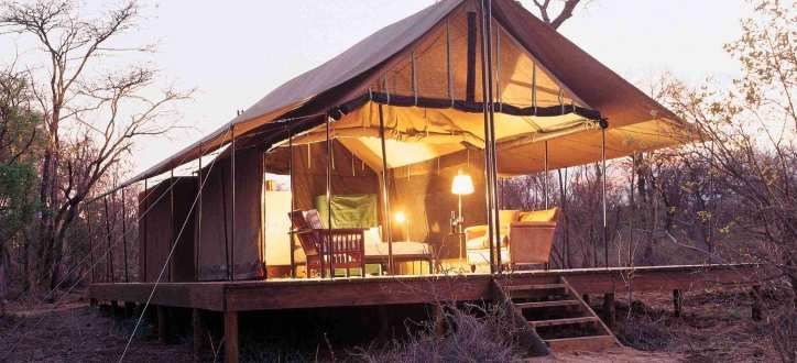A fantastic way to spend time in nature with the benefit of staying in a luxury tent at Honeyguide, Mantobeni