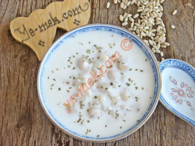 Soğuk Ayran Aşı Çorbası Resimli Tarifi - Yemek Tarifleri