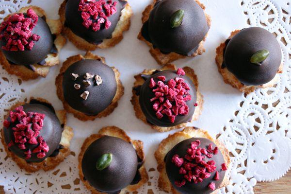 Sarah Bernhardt Petit four à la Blomsterberg | sukkerhjerte