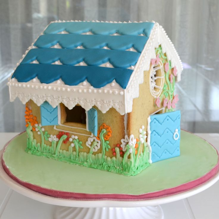 Giant Sugar Biscuit House