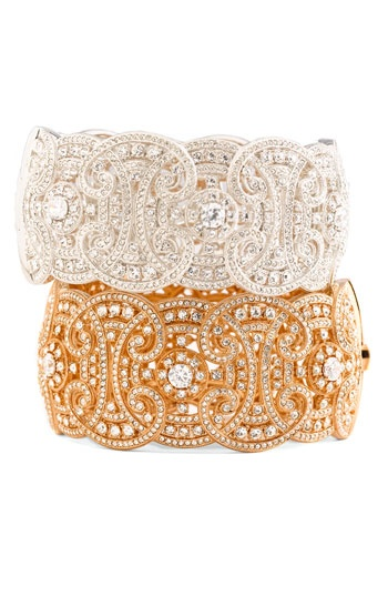 Love this style of bangles for Indian outfits.