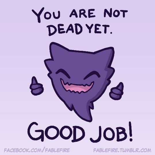 160502 Inspirational Haunter by fablefire on DeviantArt