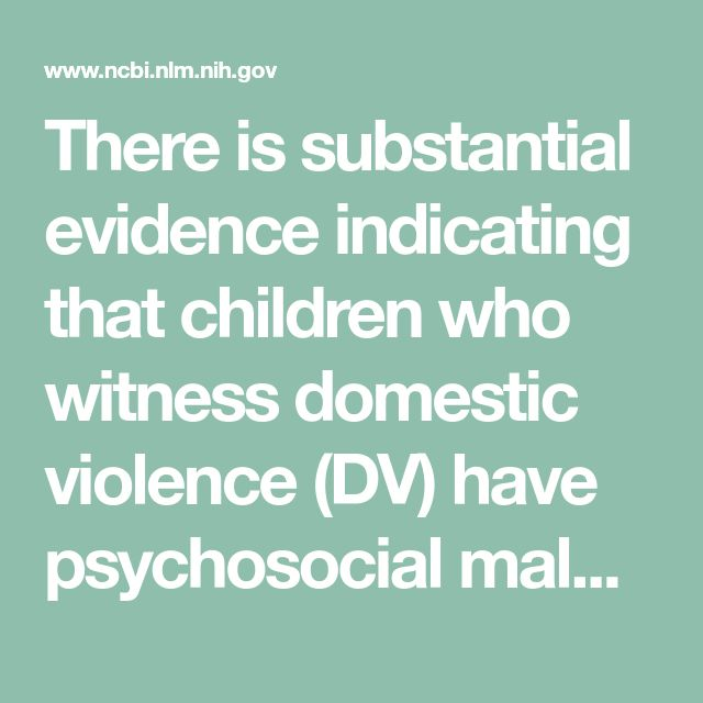 can witnessing or experiencing domestic violence be A: some parents may be reluctant to tell you that their children have witnessed domestic violence others may try to minimize the children's actual exposure to the violence (saying, for example, they didn't know it was happening, or they were always asleep or at school.