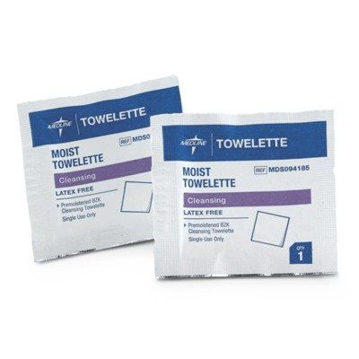 Medline MDS094185 Latex Free Antiseptic Towelette Pack of 2000 -- You can get more details by clicking on the image.