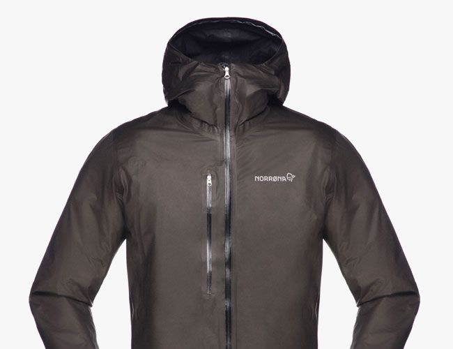 This new rain jacket from Norrøna utilizes Gore-Tex's newest membrane and eliminates the need for a face fabric.