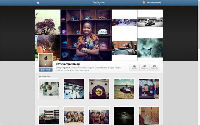 Instagram | ZOVUYO MPUTA BLOG http://zovuyomputa.blogspot.com/2013/11/instagram.html
