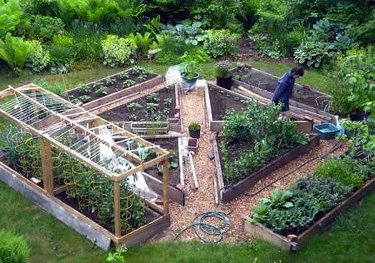47 Stylish Vegetable Garden Design Ideas You Must Try Design Garden Idea Vegetable Garden Design Garden Design Layout Landscaping Backyard Vegetable Gardens