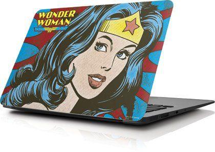 Wonder Woman - Wonder Woman Vintage Profile - Apple MacBook Air 11 (2010-2013) - Skinit Skin @ niftywarehouse.com