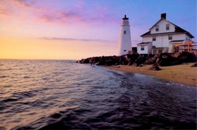 Cove Point Light Station, Maryland's oldest continuously operating light station & one of the region's best presented lighthouses.