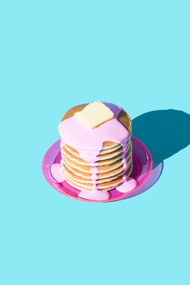 Pancakes in Pink / Violet Tinder Studios