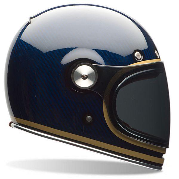Casque Integral Bell Bullitt Carbon Candy Blue | iCasque.com