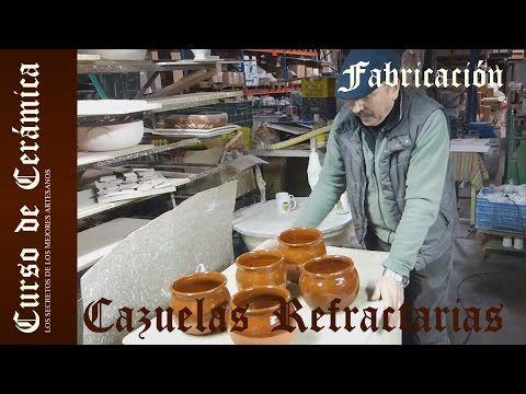 Curso de Cerámica - Esmalte y Cocción de Cazuela de Barro Refractarío - YouTube
