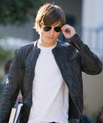 Buy 17 Again Jacket worn by Zac Efron in movie 17 again. This Moto oblow jacket is made from soft wrinkle lambskin leather. Best slim fit light weight summer jacket ever.    http://www.celebswear.com/products/OBLOW-Leather-Jacket-Zac-Efron-17-Again-Movie.html  #17again #zacefron