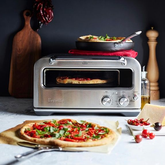 Breville Smart Oven Pizzaiolo Pizza Oven In 2020 Indoor Pizza
