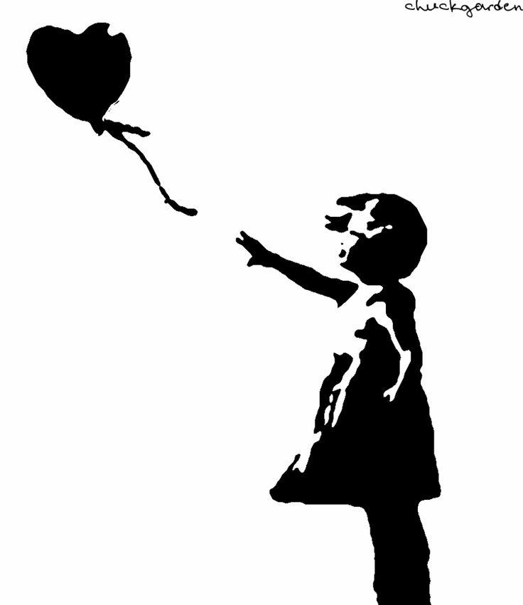 Международный день, девочка с шаром бэнкси картинки