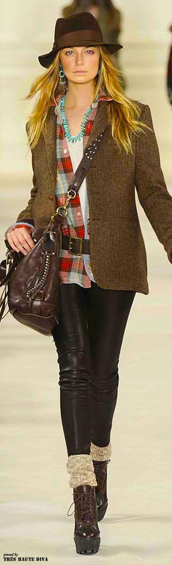 #NYFW Polo by Ralph Lauren Fall/Winter 2014 RTW http://www.wwd.com/runway/fall-ready-to-wear-2014