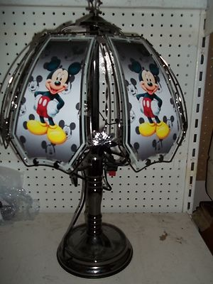 """ NEW "" CUSTOM MICKEY MOUSE 24"" TOUCH LAMP"