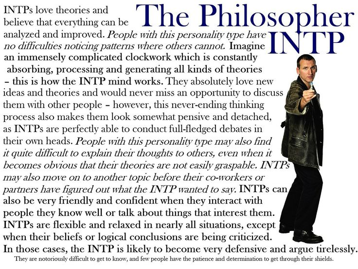 [Doctor] Who I am at times... | INTP/INTJ 5w6