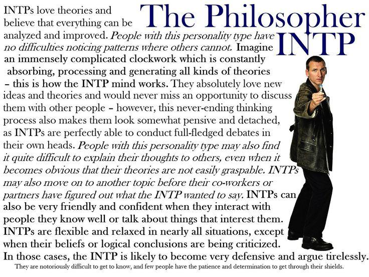 [Doctor] Who I am at times... | INTP/INTJ 5w6 | Intj intp ...