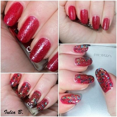 Getting ready for Christmas - 2.Glitter overload