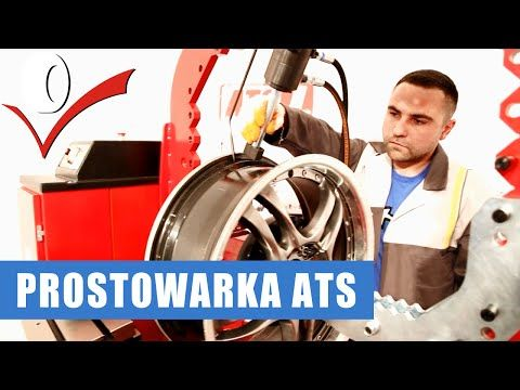 Prostowarka do felg ATS PO-22 prostowanie felgi aluminiowej - YouTube