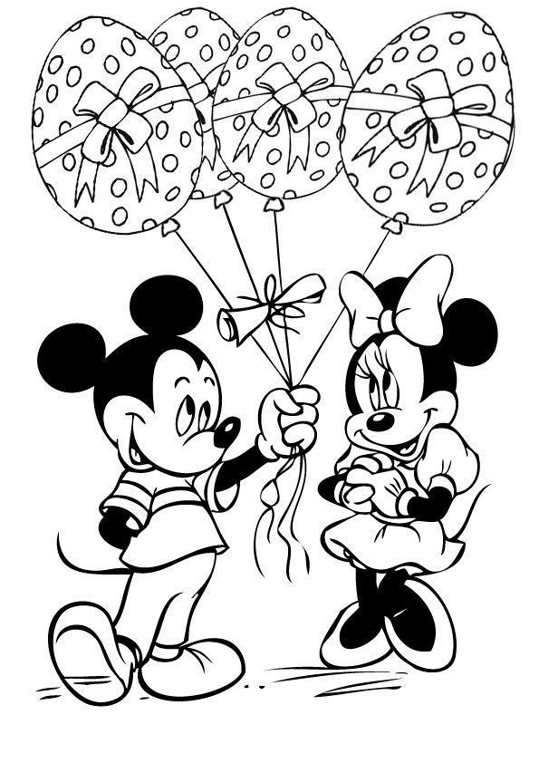 Top 10 Free Printable Disney Easter Coloring Pages Online Disney Coloring Pages Minnie Mouse Coloring Pages Mickey Coloring Pages