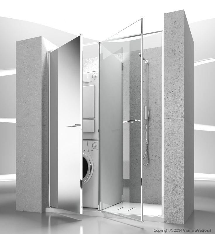 1000 idee su cabine doccia su pinterest piccole docce for Un bagno in cabina