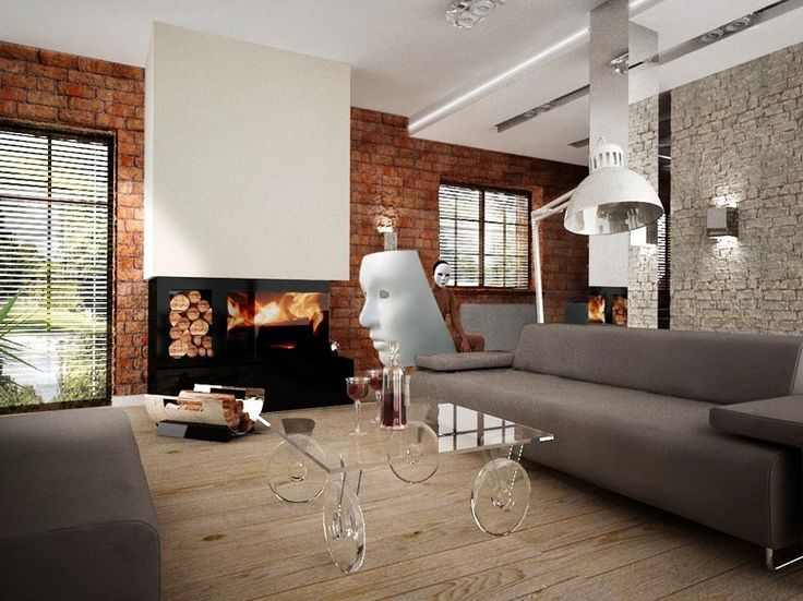 Oryginalne nowoczesne wyposażenie wnętrz mieszkalnych