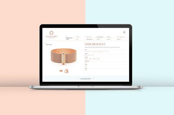 Danh Hien Jewelers Branding By Bratus Beautiful Packaging Design Graphic Design Fun Jewels