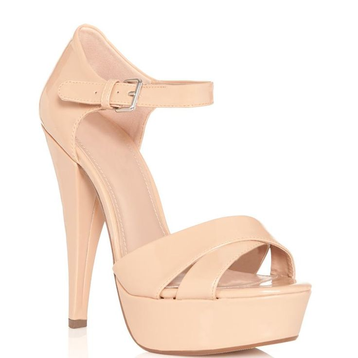 "Fabulous nude pump shoes … the ""must-have"" item for every ""it"" girl #nude pump shos #pumps #heels"