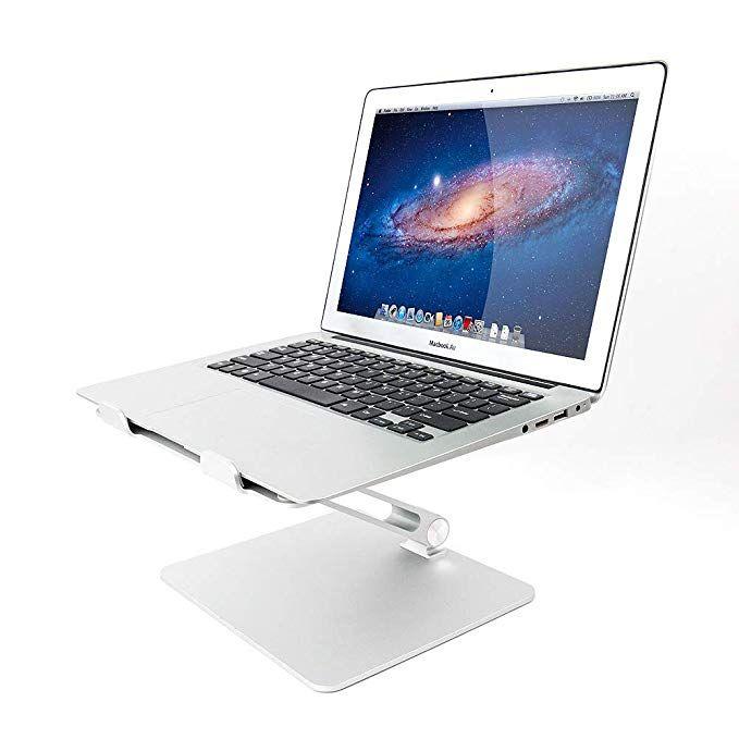Adjustable Laptop Stand Vaydeer Aluminum Laptop Notebook Stand Ergonomic Eye Level Laptop Riser Desktop Holder Book Sta Laptop Stand Computer Stand Book Stands