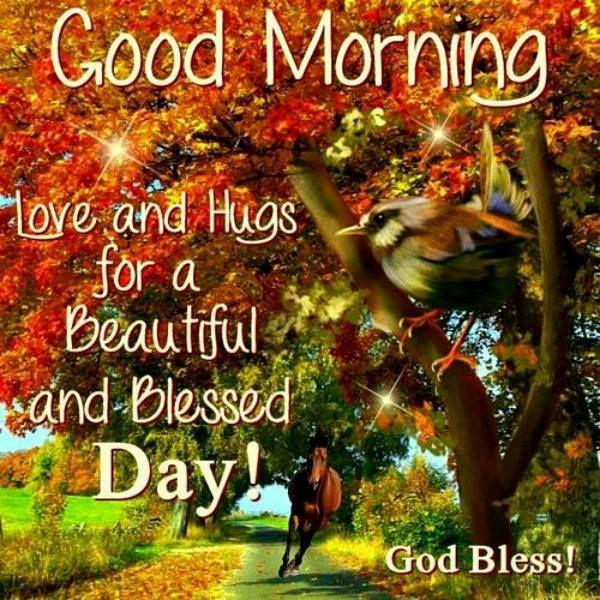 Good Morning. God Bless!