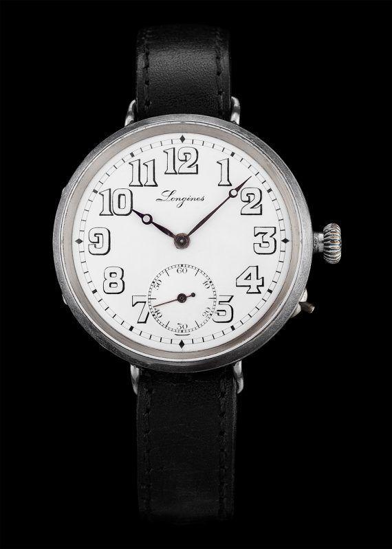 Longines Vintage Military Watch